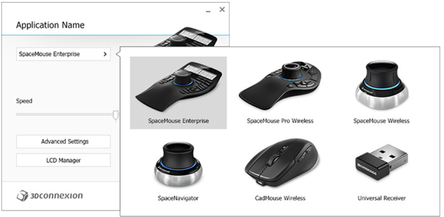 3D Connexion SpaceMouse CADMouse Wireless