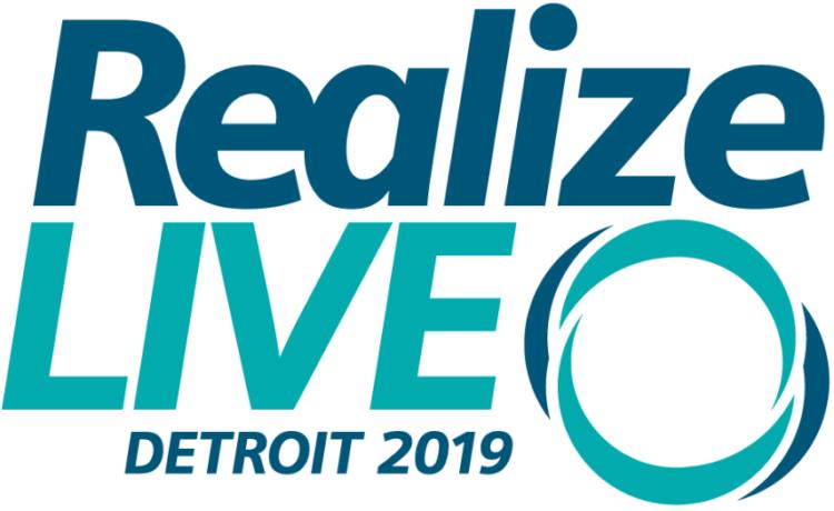 Realize live Detroit 2019